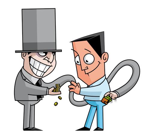 Banker, swindler