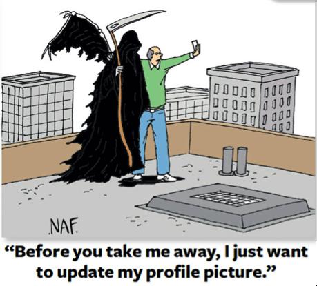 Grimm Reaper Selfie