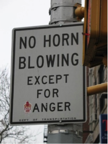 Honk Sign Humor
