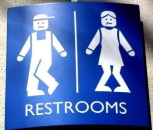 Restroom Sign Humor