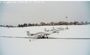Snow in Arizona - Jets in Snow