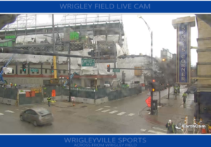 Wrigley Field Construction Webcam