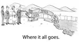 Where Tax Money Goes Comic
