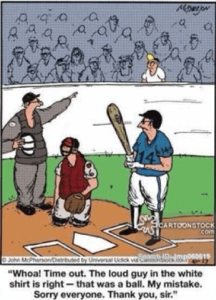 Baseball Humor Comic