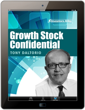 Growth Stock Confidential by Tony Daltorio