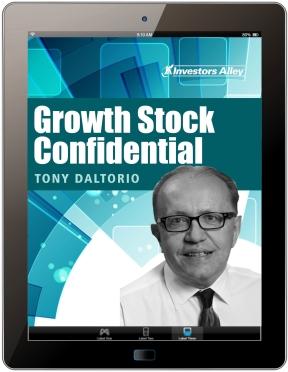 Growth Stock Confidential by Tony Daltorio