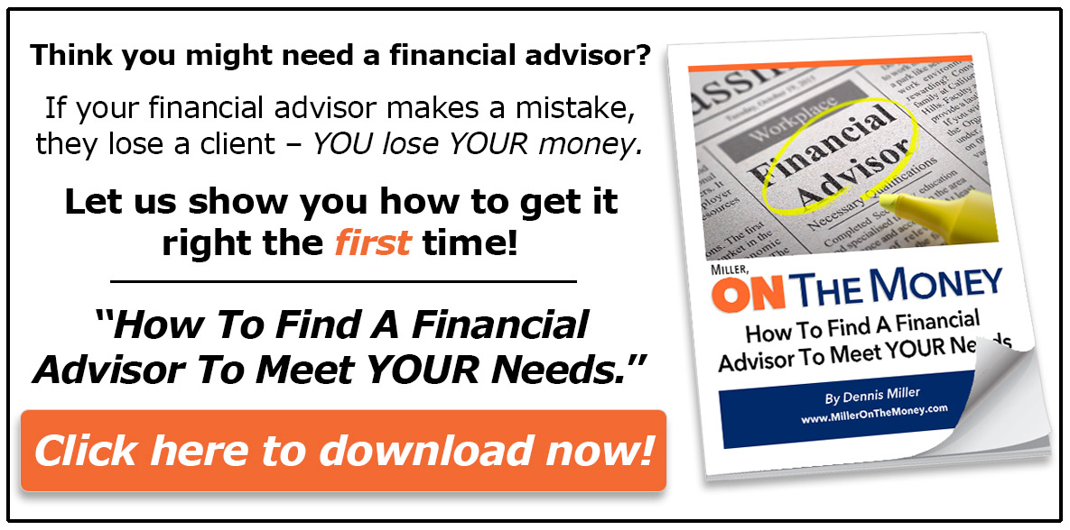 Miller on the Money Financial Advisor Special Report
