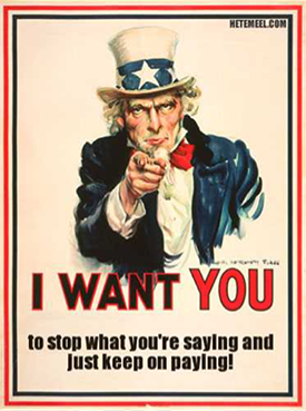 """""""I WANT YOU!"""" poster"""