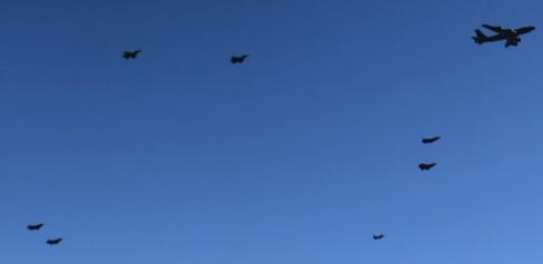 Phoenix Air Force Flyover