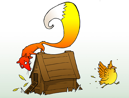 Fox and Hen House Concept: The system is designed to allow the fox, (also known as the Federal Reserve) to enable the banks to make risky bets.