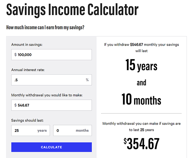 Savings Income Calculator - Guaranteed Safe Fixed Income Is Still Possible, If You Know Where To Find It