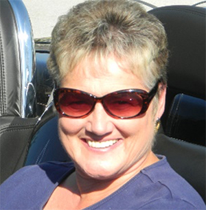 Jo Miller in her Chevy SSR