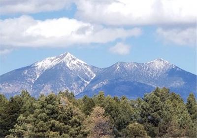 Snow-capped Humphrey's Peak