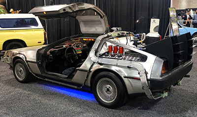 Delorian from Back to the Future Film