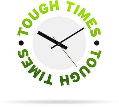 Tough Times Clock - Protecting Your Wealth In Tough Times