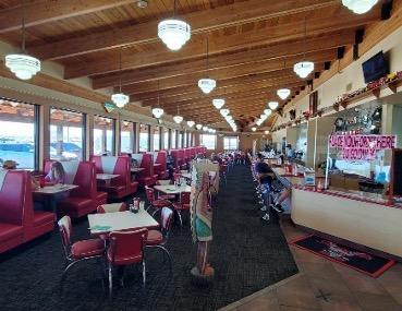 Russell's Travel Center Inside