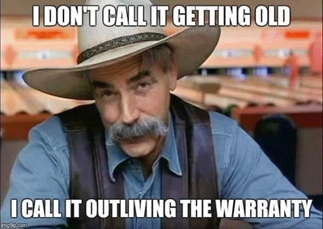 Humor about getting old